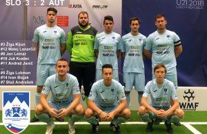 WMF World Cup U21 2018 Slovenija U21 – Avstrija U21 zgodovinska