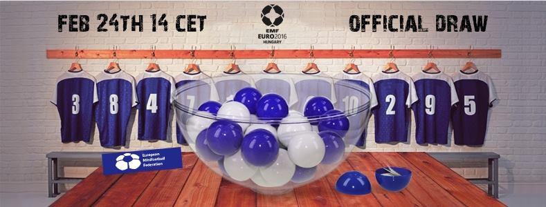 EMF EURO 2016 žreb