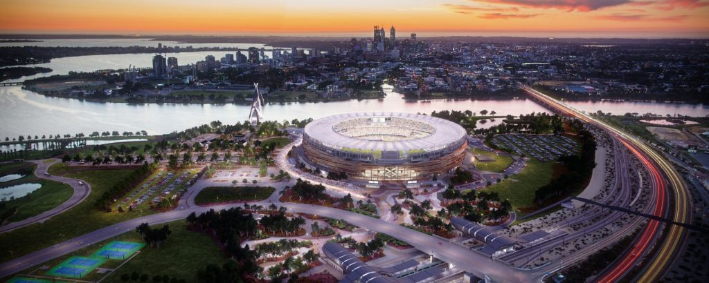 WMF World Cup 2019 Australia Perth 13 Perth Stadium and sports precinct